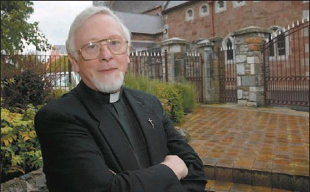 Fr Sean Sheehy who stepped aside as acting Parish Priest of Castlegregory following a meeting with Bishop Bill Murphy on Friday regarding his support for convicted sex attacker Danny Foley from Listowel.