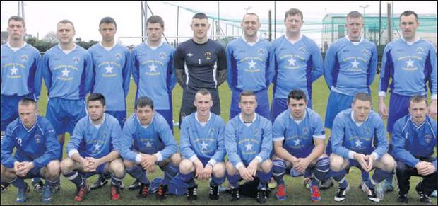 The North End side which made its exit from the Leinster Junior Cup after a penalty shoot-out against Dublin side St. Kevin's Boys.