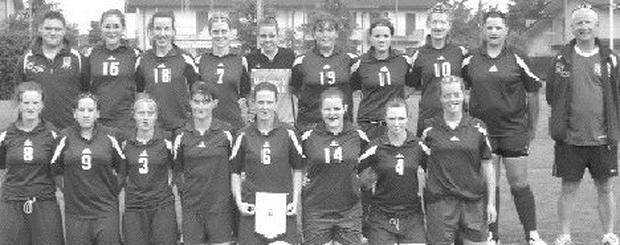 Ballina Town Ladies who recently competed in the UEFA shoot-out tournament in Italy which included a number of Sligo players.