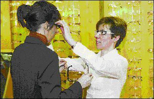 4199f313a70 Deirdre Cooke and Nuala Doris of Cooke Opticians in Sligo discuss the  importance of the lens