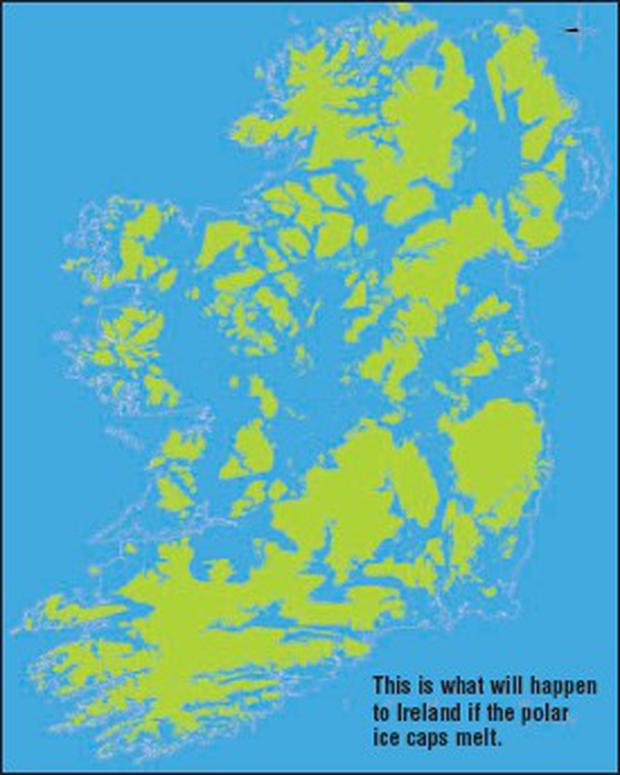 Map Of Ireland 2050.Climate Change Five Minutes To Midnight Independent Ie
