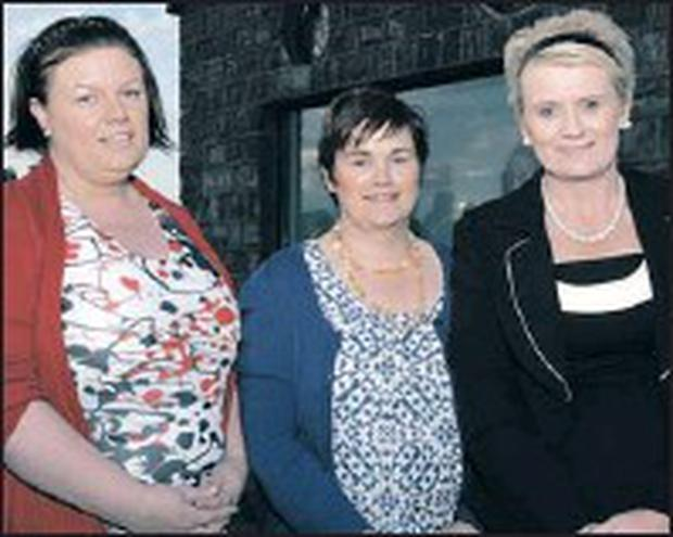 Carns visionaries, Mary, Colleen and Patricia McGuinness. Missing from the picture is Mary Hanley.