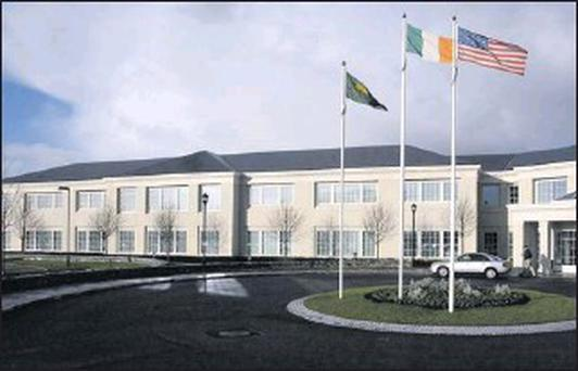 MBNA's Irish headquarters in Carrick on Shannon, Co Leitrim.