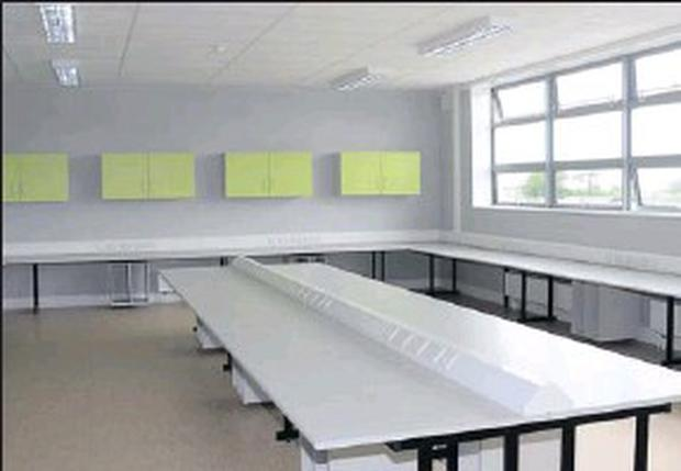 One of the multi-media rooms at Summerhill's state-of-the-art college.