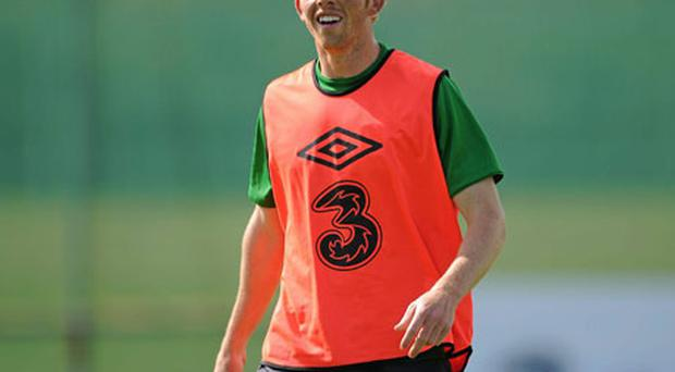 Paul Green is in contention for a starting place for Ireland in their opening qualifying match against Armenia on Friday.