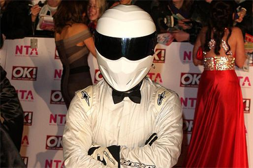 Top Gear's The Stig. Photo PA