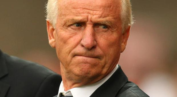 Giovanni Trapattoni 'I am optimistic. As a precaution, we left Richard and also Darren out of training, but I am optimistic because we have 48 hours.' Photo: Getty Images