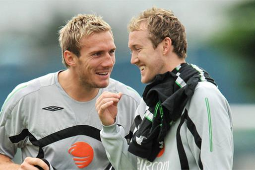Trapattoni will gamble on the fitness of Aiden McGeady and Liam Lawrence. Photo: Sportsfile