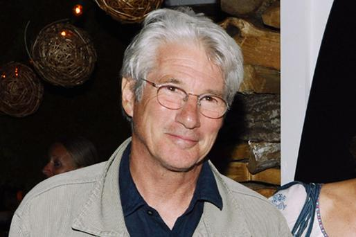 Richard Gere, 61, dislocated his shoulder filming a fight scene with a British actor. Photo: Getty Images