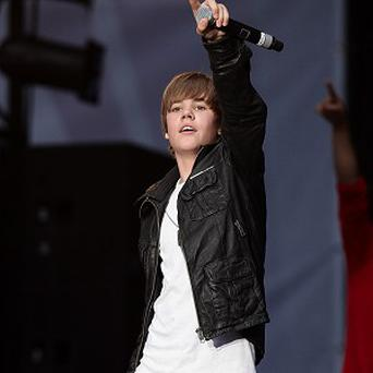 Justin Bieber performed in New York with his 'heroes'