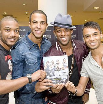 JLS have been promoting their new book