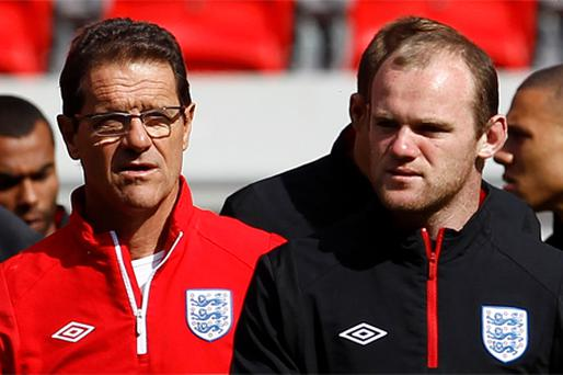 Fabio Capello will be hoping Wayne Rooney rediscovers scoring touch for England against Bulgaria at Wembley tonight