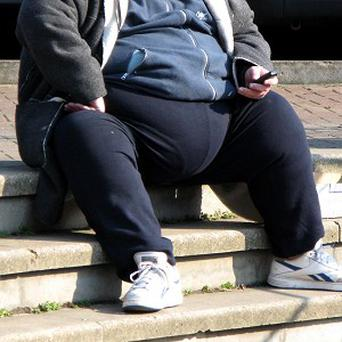 One in 10 men are unable to see their genitals because of their protruding bellies