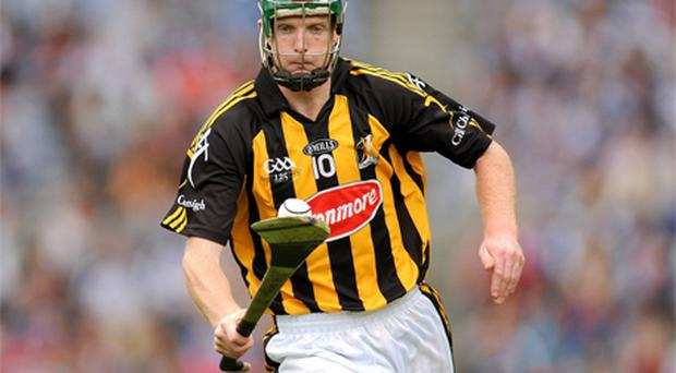 Henry Shefflin tore the anterior cruciate ligament in his left knee in the semi-final defeat of Cork. Photo: Sportsfile