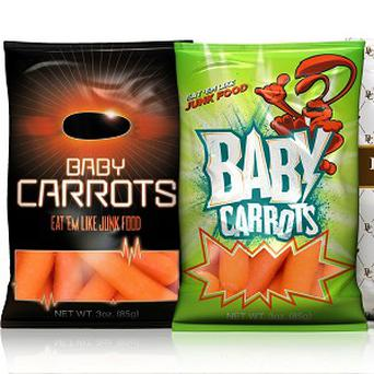 Baby carrot farmers are launching a new campaign to boost the sales of the vegetable