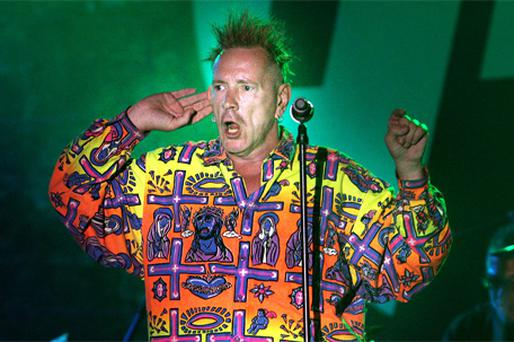 ESCAPISM: John Lydon, of Public Image Limited, performs at the Electric Picnic in Stradbally, Co Laois
