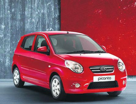 HIGH DEGREE OF INTEREST: The Kia Picanto is an ideal runabout for freshers