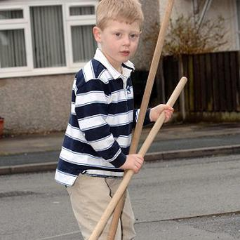 Sam Houghton's broom idea is among the UK's top 15 inventions, according to the British Library