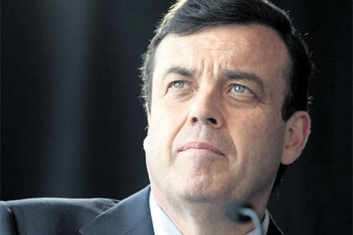 Finance Minister Brian Lenihan is looking at the long game, not ruling out running against Brian Cowen as leader of Fianna Fail at some stage in the future