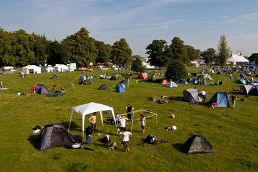 Gardai arrested eight people at Electric Picnic. Photo: Douglas O'Connor