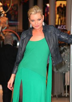 NEW YORK - APRIL 02: Kate Moss attends the opening of TOPSHOP TOPMAN on April 2, 2009 in New York City. (Photo by Andrew H. Walker/Getty Images)
