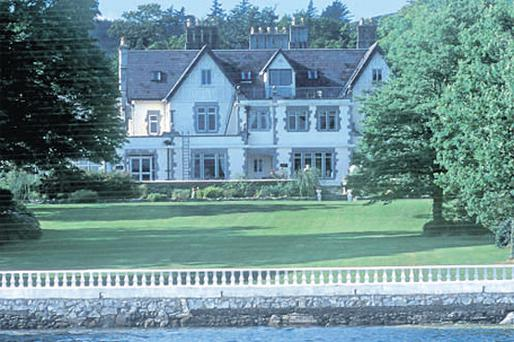Kenmare Manor, formerly known as The Dromquinna Manor Hotel, in Co Kerry