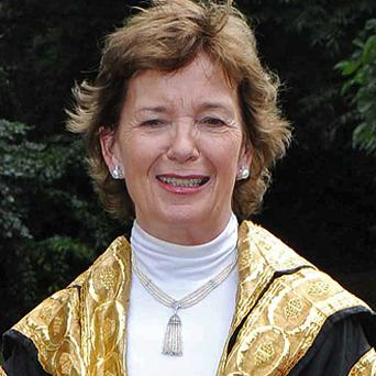 Mary Robinson: has agreed the terms for her memoir. Photo: Damien Eagers