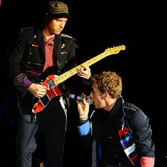 Coldplay made the best-selling singles chart in 2008