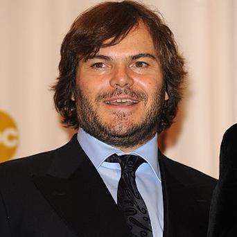 Jack Black provides the voice of Po in Kung Fu Panda