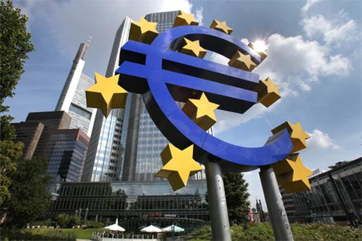 The ECB never comments on bond purchases, but yesterday traders claimed it was among the day's buyers. Photo: Bloomberg News