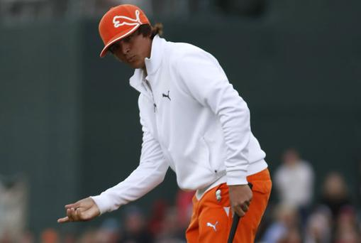 US rookie Rickie Fowler looks set for a battle with Rory McIlroy in the Ryder Cup. Photo: Reuters