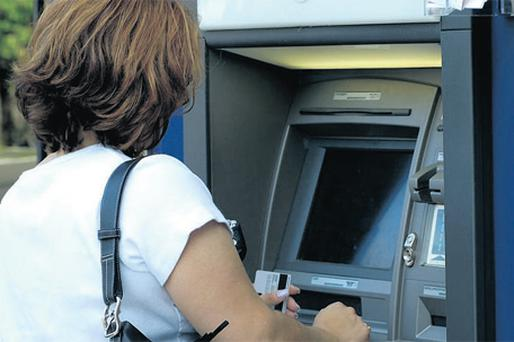 One of the methods used by ATM fraudsters is the installation of a micro-camera, usually in metal that matches the ATM being targeted, at the top of the ATM to capture the PIN number as you key it in