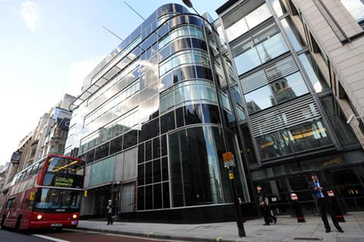 Goldman Sachs complex of offices in Fleet Street. Photo: PA