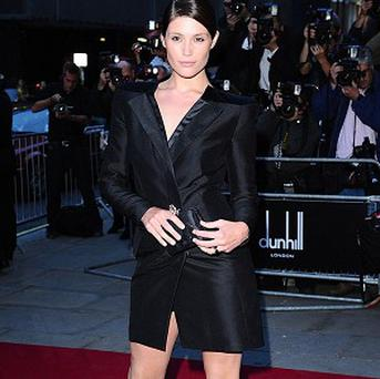 Gemma Arterton was named Woman of the Year at the GQ Men of the Year Awards
