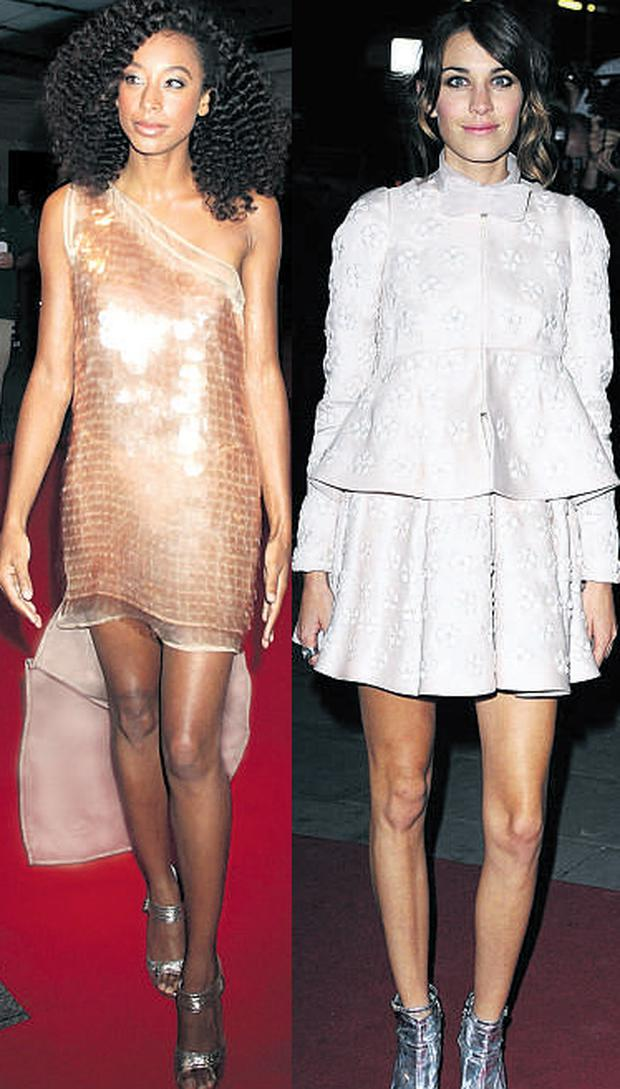 From left: Corinne Bailey Rae and Alexa Chung