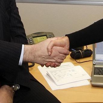 A firm handshake could be an indicator of a longer life expectancy, according to research