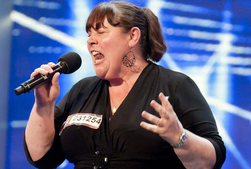 HARSH REALITY: Singing sensation Mary Byrne, from Ballyfermot, Dublin, hopes to emulate Susan Boyle''s success