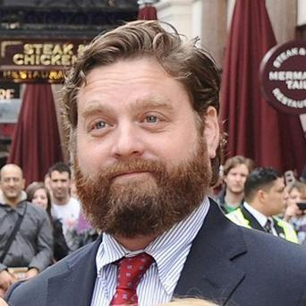 Zach Galifianakis thinks people are paid to scream for him