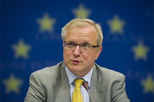 EU Commissioner for Economic and Monetary Affairs Olli Rehn. Photo: Bloomberg News