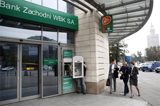Reports in Poland last night confirmed that regulator KNF was investigating the deal which will see Santander take control of Poland's third biggest bank, Bank Zachodni. Photo: Bloomberg News