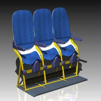 SkyRider seats designed by Italian firm Aviointeriors Group