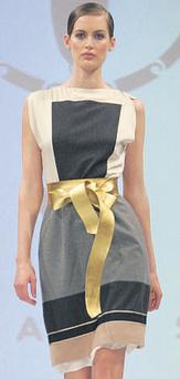 Silk and wool dress, €1,295, Vionnet