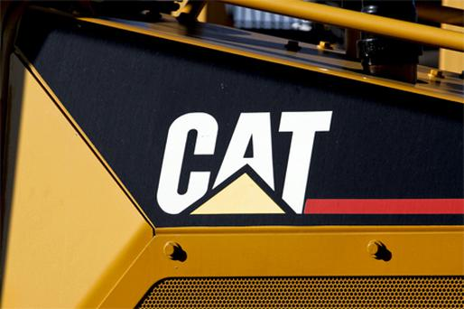 Orders from abroad and the need for some companies to replace outdated equipment are supporting other manufacturers including Caterpillar. Photo: Bloomberg News