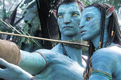 A scene from the James Cameron blockbuster 'Avatar'