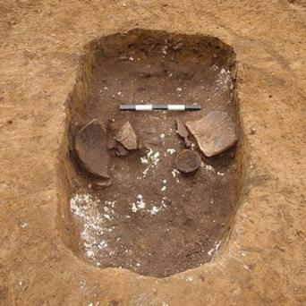 Iron Age human remains have been unearthed during the construction of a school in south-west London