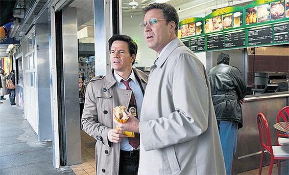 Hoitz (Mark Wahlberg) and Gamble (Will Ferrell) have different appetites when it comes to police work