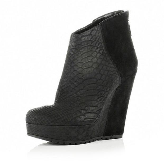 River Island Wedge Boots €114