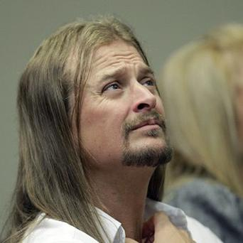 Kid Rock has appeared in a US court