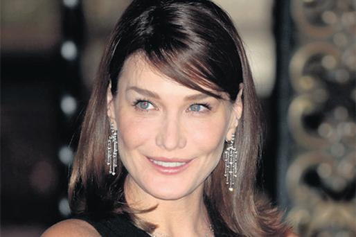CHAMELEON: Carla Bruni, ex-lover of Mick Jagger and Eric Clapton, is extremely determined and quick to fit a mould, be it model, singer or president's wife