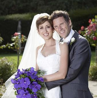 Connie Fisher proved it was far from a brief encounter by tying the knot with international banker Jeremy Reed